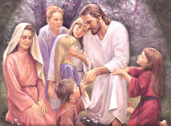Jesus with the Children